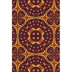 Geometric Pattern 5.5  x 8.5  Notebooks Back Cover Inside