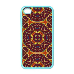 Geometric Pattern Apple Iphone 4 Case (color) by linceazul