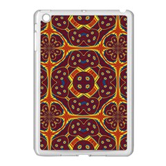 Geometric Pattern Apple Ipad Mini Case (white) by linceazul