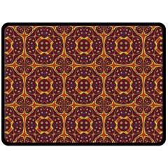 Geometric Pattern Fleece Blanket (large)  by linceazul
