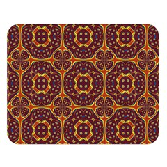 Geometric Pattern Double Sided Flano Blanket (large)  by linceazul
