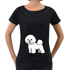 Bichon Frise Women s Loose Fit T Shirt (black) by allthingseveryday