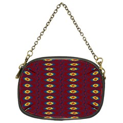 Geometric Pattern Chain Purses (one Side)  by linceazul