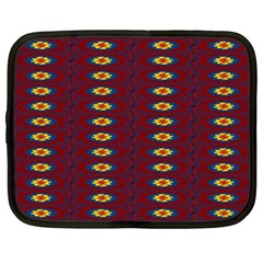 Geometric Pattern Netbook Case (xxl)  by linceazul