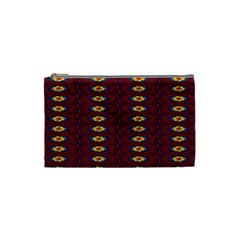 Geometric Pattern Cosmetic Bag (small)  by linceazul