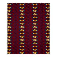 Geometric Pattern Shower Curtain 60  X 72  (medium)  by linceazul