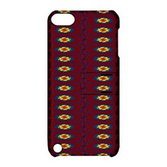Geometric Pattern Apple Ipod Touch 5 Hardshell Case With Stand by linceazul