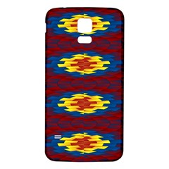 Geometric Pattern Samsung Galaxy S5 Back Case (white) by linceazul