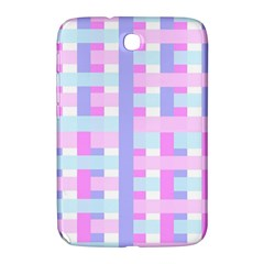 Gingham Nursery Baby Blue Pink Samsung Galaxy Note 8 0 N5100 Hardshell Case