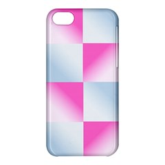 Gradient Blue Pink Geometric Apple Iphone 5c Hardshell Case