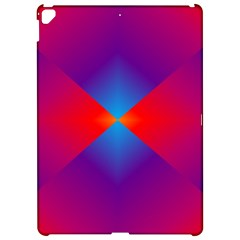 Geometric Blue Violet Red Gradient Apple Ipad Pro 12 9   Hardshell Case by BangZart