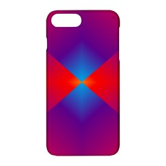 Geometric Blue Violet Red Gradient Apple Iphone 7 Plus Hardshell Case