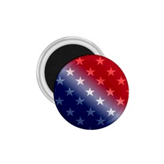 America Patriotic Red White Blue 1 75  Magnets