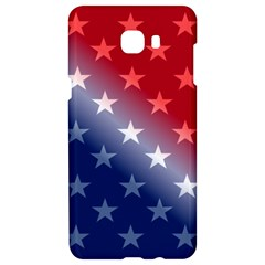 America Patriotic Red White Blue Samsung C9 Pro Hardshell Case  by BangZart