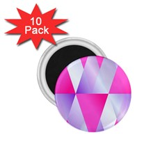 Gradient Geometric Shiny Light 1 75  Magnets (10 Pack)  by BangZart