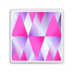 Gradient Geometric Shiny Light Memory Card Reader (square)