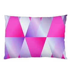 Gradient Geometric Shiny Light Pillow Case (two Sides)