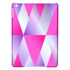 Gradient Geometric Shiny Light Ipad Air Hardshell Cases by BangZart