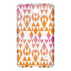 Geometric Abstract Orange Purple Samsung Galaxy Tab 4 (7 ) Hardshell Case