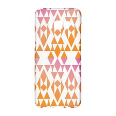 Geometric Abstract Orange Purple Samsung Galaxy S8 Hardshell Case