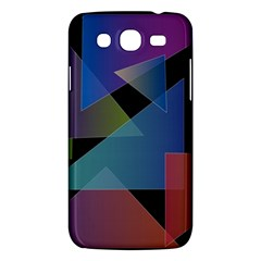 Triangle Gradient Abstract Geometry Samsung Galaxy Mega 5 8 I9152 Hardshell Case
