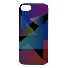 Triangle Gradient Abstract Geometry Apple Iphone 5s/ Se Hardshell Case