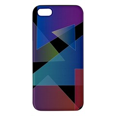 Triangle Gradient Abstract Geometry Iphone 5s/ Se Premium Hardshell Case