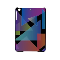 Triangle Gradient Abstract Geometry Ipad Mini 2 Hardshell Cases