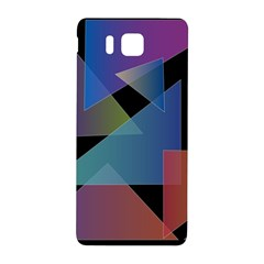 Triangle Gradient Abstract Geometry Samsung Galaxy Alpha Hardshell Back Case