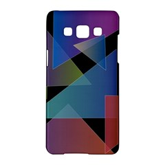 Triangle Gradient Abstract Geometry Samsung Galaxy A5 Hardshell Case