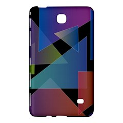 Triangle Gradient Abstract Geometry Samsung Galaxy Tab 4 (7 ) Hardshell Case