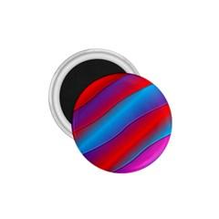 Diagonal Gradient Vivid Color 3d 1 75  Magnets