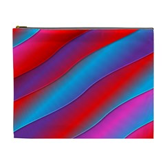 Diagonal Gradient Vivid Color 3d Cosmetic Bag (xl)