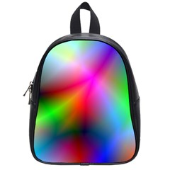 Course Gradient Background Color School Bag (small)
