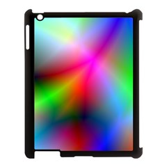 Course Gradient Background Color Apple Ipad 3/4 Case (black)