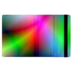 Course Gradient Background Color Apple Ipad Pro 9 7   Flip Case