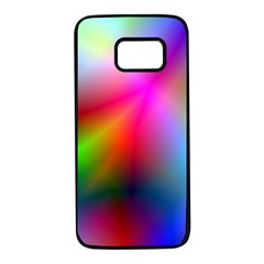 Course Gradient Background Color Samsung Galaxy S7 Black Seamless Case