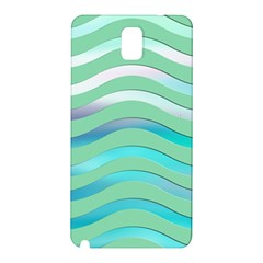 Abstract Digital Waves Background Samsung Galaxy Note 3 N9005 Hardshell Back Case