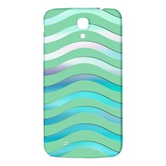 Abstract Digital Waves Background Samsung Galaxy Mega I9200 Hardshell Back Case