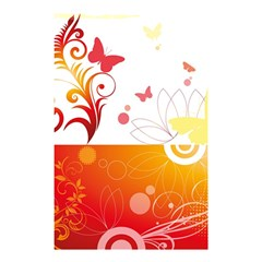 Spring Butterfly Flower Plant Shower Curtain 48  X 72  (small)  by BangZart