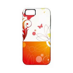 Spring Butterfly Flower Plant Apple Iphone 5 Classic Hardshell Case (pc+silicone) by BangZart