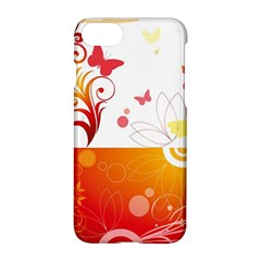 Spring Butterfly Flower Plant Apple Iphone 7 Hardshell Case by BangZart