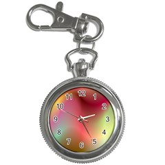 Colorful Colors Wave Gradient Key Chain Watches