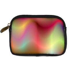 Colorful Colors Wave Gradient Digital Camera Cases by BangZart