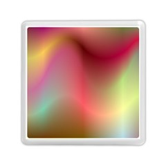 Colorful Colors Wave Gradient Memory Card Reader (square)