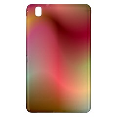 Colorful Colors Wave Gradient Samsung Galaxy Tab Pro 8 4 Hardshell Case