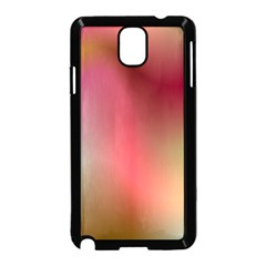 Colorful Colors Wave Gradient Samsung Galaxy Note 3 Neo Hardshell Case (black)