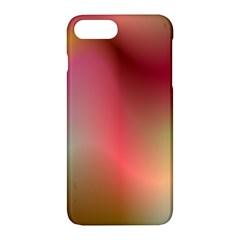 Colorful Colors Wave Gradient Apple Iphone 7 Plus Hardshell Case