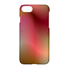 Colorful Colors Wave Gradient Apple Iphone 8 Hardshell Case