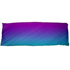 Background Pink Blue Gradient Body Pillow Case (dakimakura) by BangZart